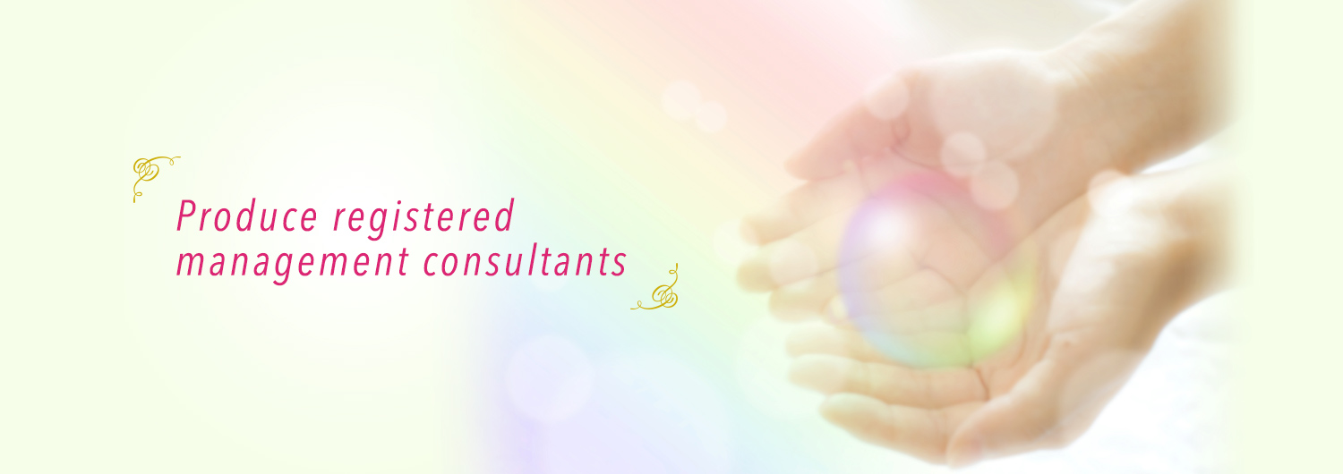 Produce registered management consultants